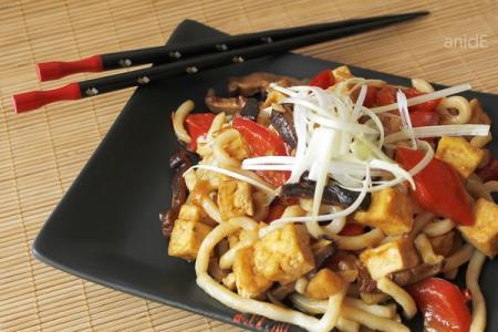 Tofu a Wokban recept