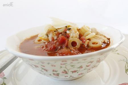 Csirkeleves recept szicíliai módra