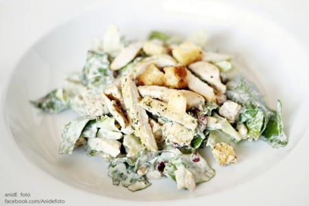 Cézári saláta recept