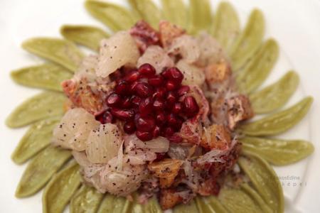 Mákvirág tésztasaláta recept