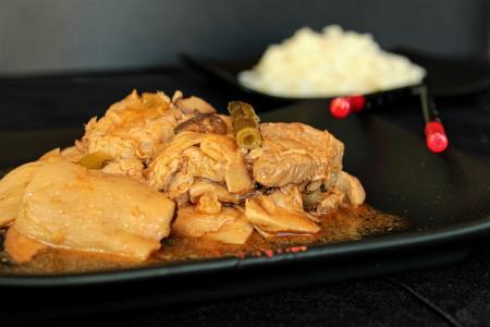 Sertésszűz ördögszekérgombával recept wokban
