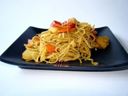 Teriyaki stir and fry csirke recept